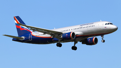 A picture of VPBII - Airbus A320214 - Aeroflot - © Vitaly Revyakin