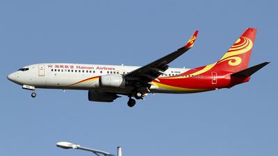 B-1502 - Boeing 737-84P - Hainan Airlines