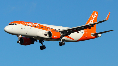 A picture of OEICW - Airbus A320214 - easyJet - © Sebastien David