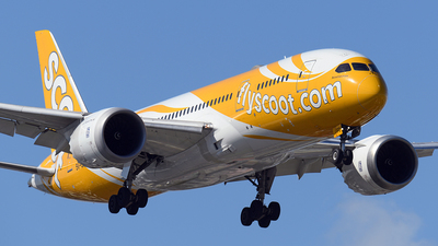 A picture of 9VOFC - Boeing 7878 Dreamliner - Scoot - © Huang Chengjen
