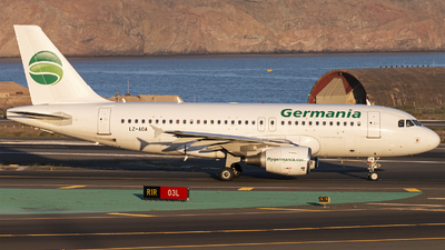 LZ-AOA - Airbus A319-111 - Germania
