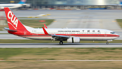 A picture of B1523 - Boeing 73789P - China United Airlines - © Xu Zijun