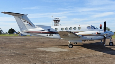 LV-WMA - Beechcraft B300 King Air - Private
