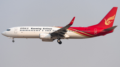 A picture of B1315 - Boeing 73784P - Kunming Airlines - © HXD3D-0080