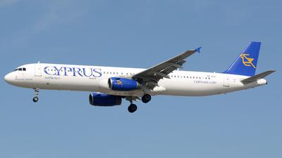 5B-DCO - Airbus A321-231 - Cyprus Airways