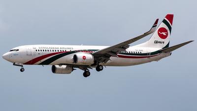 A picture of S2AHO - Boeing 7378E9 - Biman Bangladesh Airlines - © Tomasz Kozakowski
