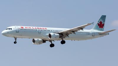 C-GIUB - Airbus A321-211 - Air Canada