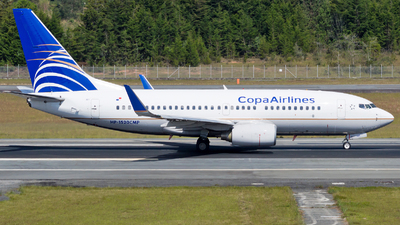 HP-1520CMP - Boeing 737-7V3 - Copa Airlines