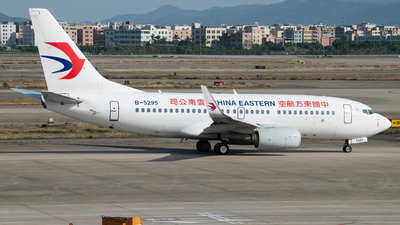 A picture of B5295 - Boeing 73779P - China Eastern Airlines - © LeoRay