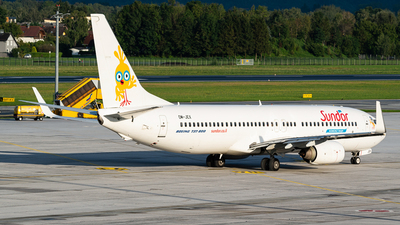OM-JEX - Boeing 737-8AS - Sun d'Or International Airlines (Air Explore)