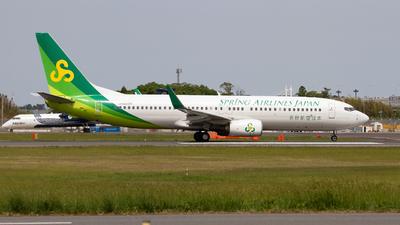 JA02GR - Boeing 737-86N - Spring Airlines Japan