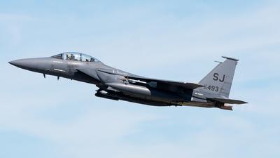 89-0493 - McDonnell Douglas F-15E Strike Eagle - United States - US Air Force (USAF)