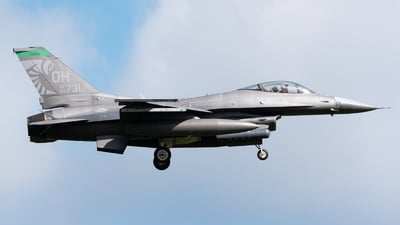 90-0731 - General Dynamics F-16CM Fighting Falcon - United States - US Air Force (USAF)