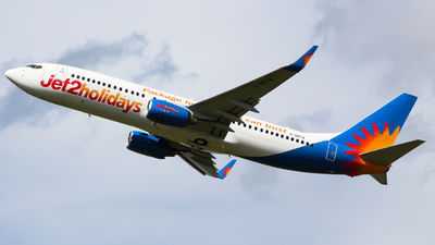 A picture of GDRTA - Boeing 73785P - Jet2 - © Jamie PD