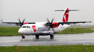 OK-KFN - ATR 42-500 - CSA Czech Airlines