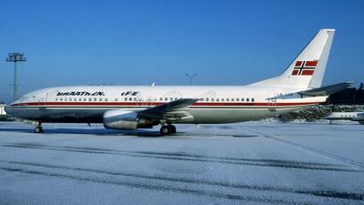 LN-BRE - Boeing 737-405 - Braathens SAFE