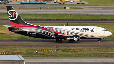 A picture of B2969 - Boeing 73736R(BDSF) - SF Airlines - © CASSPI