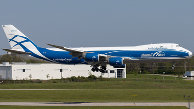 A picture of VPBBL - Boeing 74787U(F) - AirBridgeCargo Airlines - © donald e moore