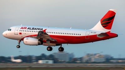 TC-JLR - Airbus A319-132 - Air Albania
