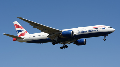 G-YMME - Boeing 777-236(ER) - British Airways
