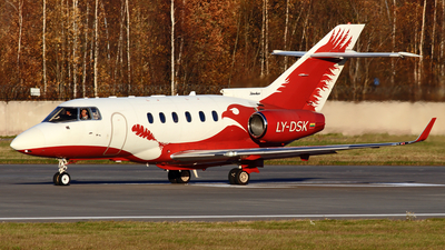 LY-DSK - Raytheon Hawker 850XP - Aurela