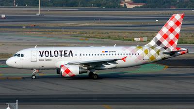 EI-FMT - Airbus A319-112 - Volotea