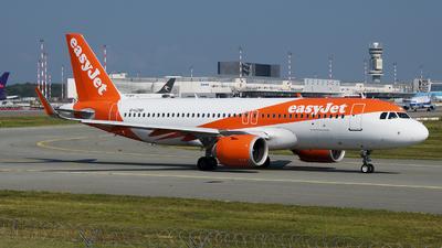 G-UZHP - Airbus A320-251N - easyJet