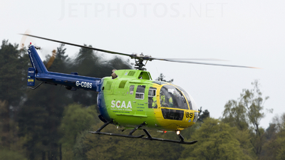 G-CDBS - MBB Bo105CBS-4 - Bond Air Services