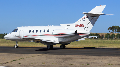 VH-OFJ - Hawker Beechcraft 800XP - Private