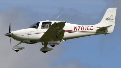 A picture of N781CD - Cirrus SR20 - [1423] - © Ian Howat
