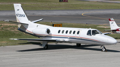 N726HA - Cessna 550 Citation II - Private