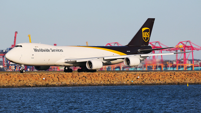 A picture of N620UP - Boeing 7478F - UPS Airlines - © Mark H