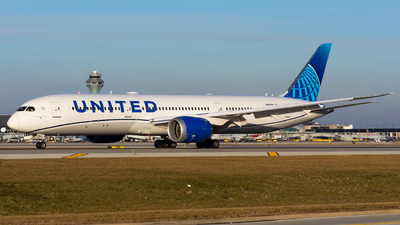 N29984 - Boeing 787-9 Dreamliner - United Airlines