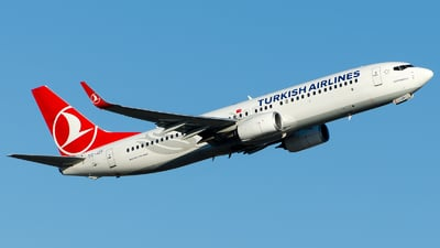 A picture of TCJZF - Boeing 7378F2 - Turkish Airlines - © Alp AKBOSTANCI