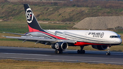 A picture of B2829 - Boeing 75725C(PCF) - SF Airlines - © ERIC-CHEN