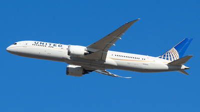 N38950 - Boeing 787-9 Dreamliner - United Airlines
