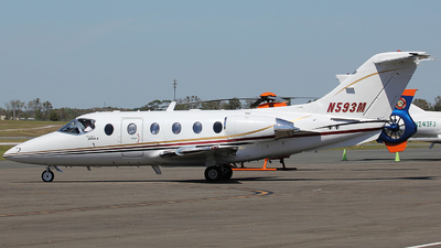 N593M - Beechcraft 400A Beechjet - Private