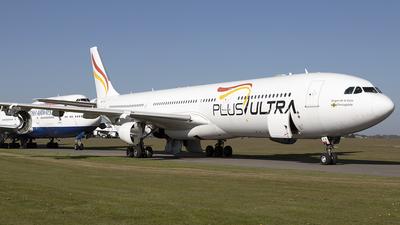 A picture of ECMFA - Airbus A340313 - Plus Ultra - © Sam Randles