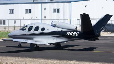N4BC - Cirrus Vision SF50 G2 - Private