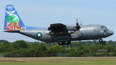 4153 - Lockheed C-130E Hercules - Pakistan - Air Force