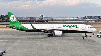 A picture of B16227 - Airbus A321211 - EVA Air - © jasonhuang626