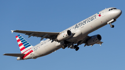 A picture of N580UW - Airbus A321231 - American Airlines - © Positive Rate Photography