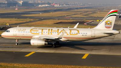 A picture of A6EIY - Airbus A320232 - Etihad Airways - © Aneesh Bapaye