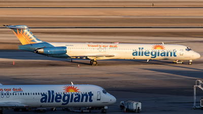 N863GA - McDonnell Douglas MD-83 - Allegiant Air