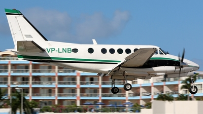 VP-LNB - Beechcraft A100 King Air - VI Air Link