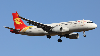 A picture of B9961 - Airbus A320214 - Capital Airlines - © YIJING HOU