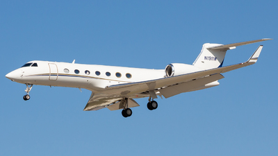 N1911W - Gulfstream G550 - Private