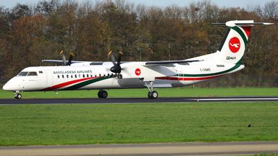 C-GNMO - Bombardier Dash 8-Q402 - Biman Bangladesh Airlines