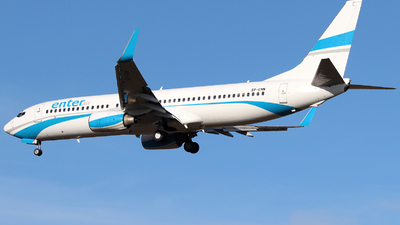 SP-ENM - Boeing 737-8CX - Enter Air