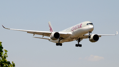 A7-ALQ - Airbus A350-941 - Qatar Airways
